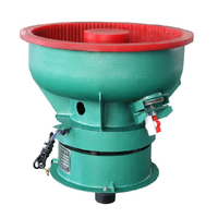 Small Bowl Vibratory Polishing Machines 80L for Batch finishing Processing Of Parts