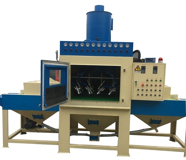 conveyor blasting machine